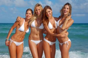 Victoria's Secret Supermodels Bikini Photo Shoot
